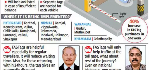 Now, FASTags to help you zip past toll plaza queues in Telangana