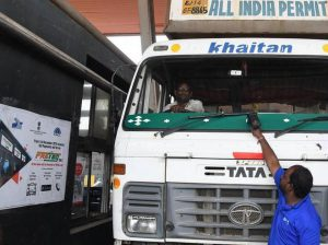 How will the FASTag toll collection programme help cut delays and losses on India's highways?
