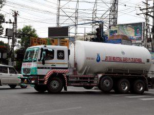 Oxygen Tanker Driver